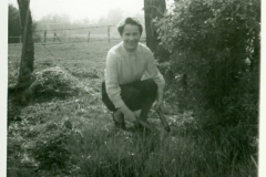 Phyllis Williams in Garden (2)