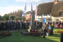 Chalgrove Remembers 2016