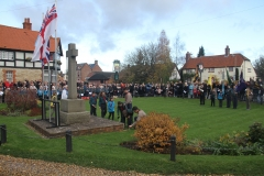 Remembrance Sunday 2017 in Chalgrove