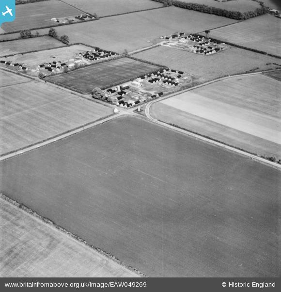 Nissen Huts Chalgrove Airfield 1953