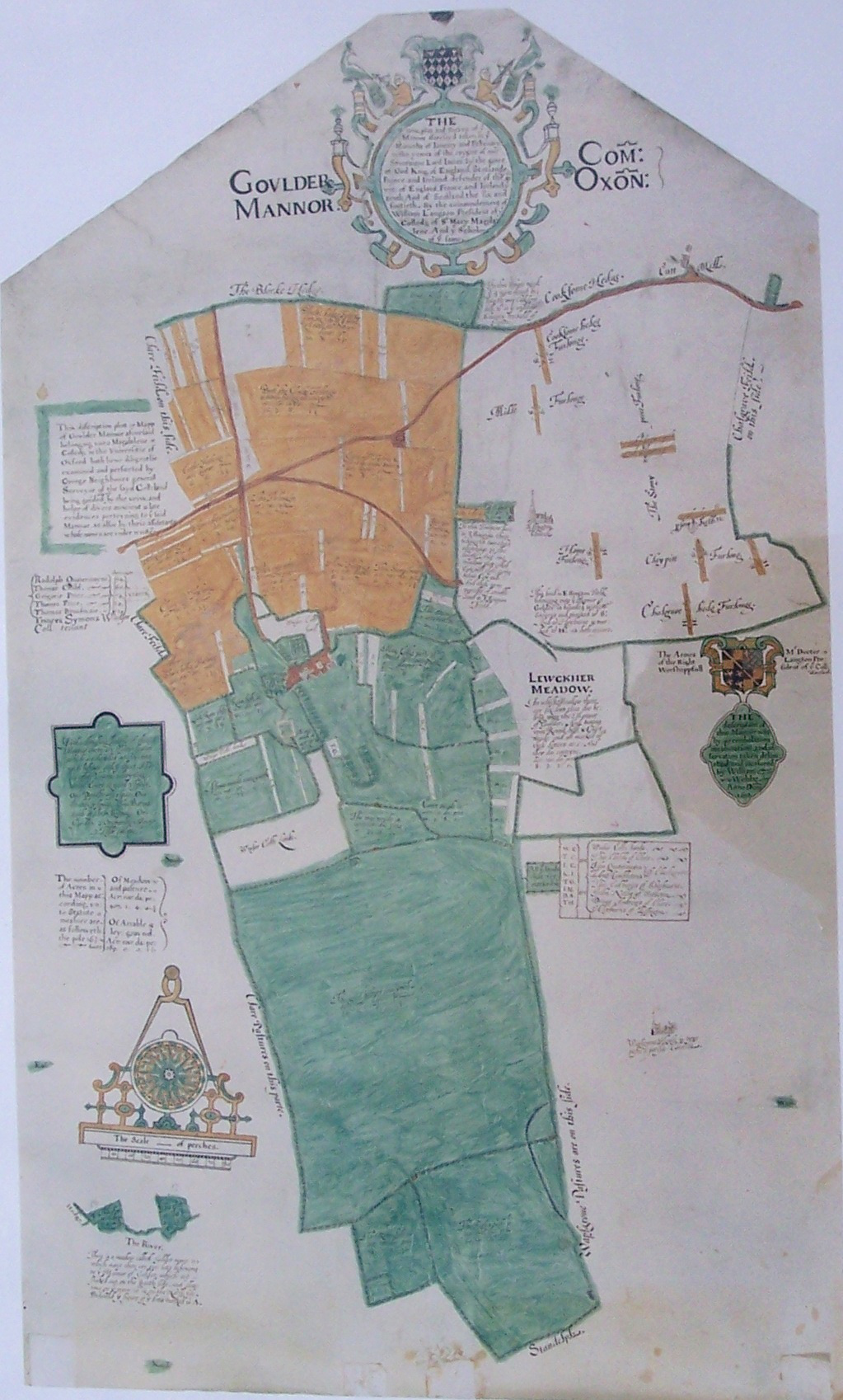 Webbs 1612 Map of Golder Manor