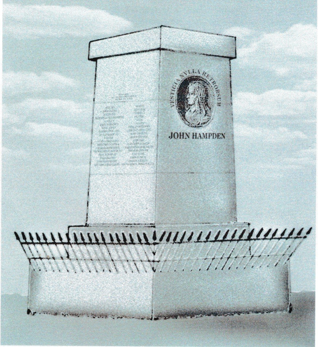 John Hampden Monument Artist Impression