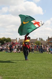 John Hampden Regiment Colours
