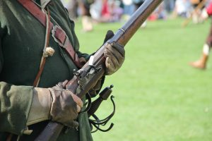 Close up of Flintlock